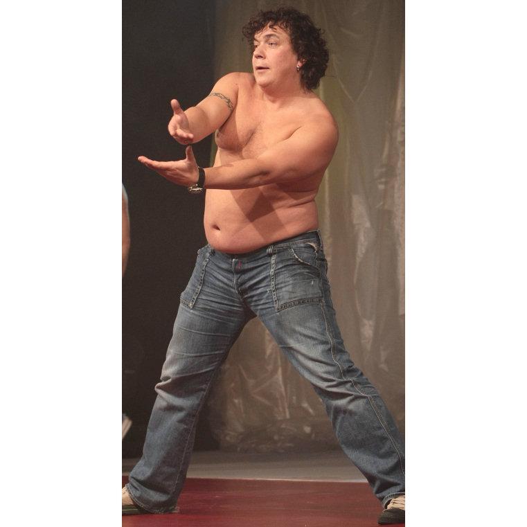 fat man (czech actor Genzer)wild dancing !