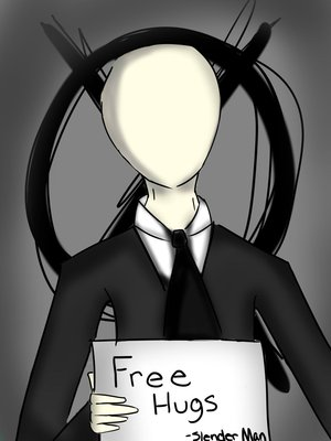free hugs - the-slender-man Photo
