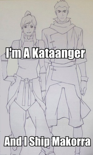 i'm a kataanger and i প্রণয় makorra