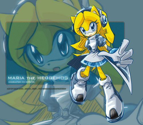 maria the hedgehog