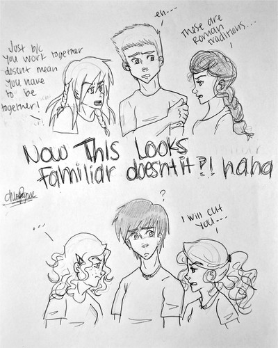 pjo catfights:)