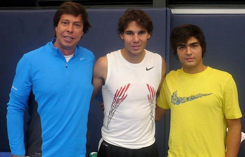 rafa has so short hair :-( (