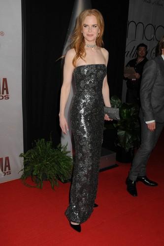 Nicole at the 45th Annual CMA Awards