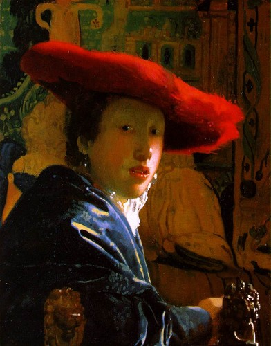 'The Girl with the Red Hat'
