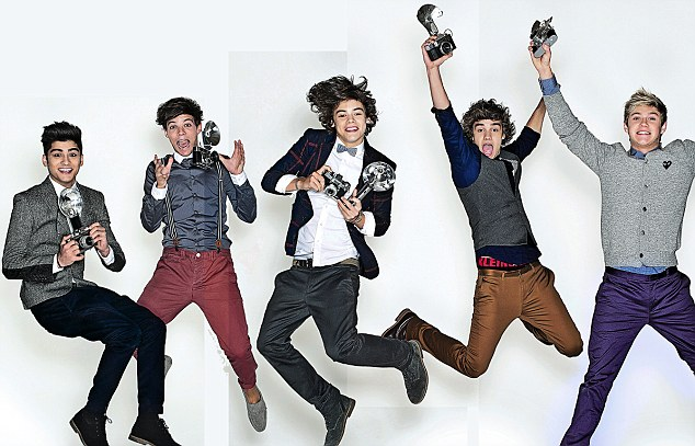 One Direction 1D's 'Daily Mail' photoshoot! x♥x