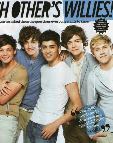 1D special in 'We ♥ Pop' magazine!