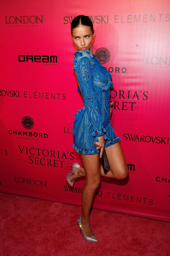 2011 Victoria's Secret Fashion दिखाना - After Party