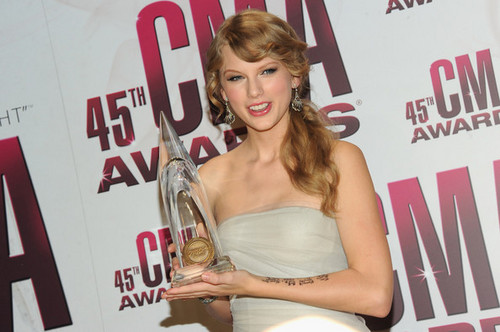 45th Annual CMA Awards - Press Room