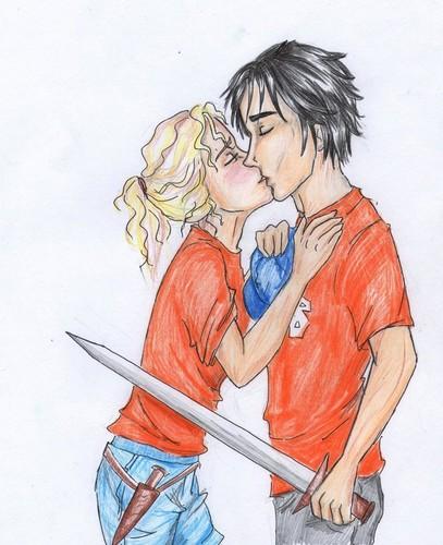 A good luck kiss <3