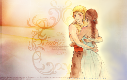 Avatar: The Last Airbender wallpaper called Aang and Katara ~  ♥