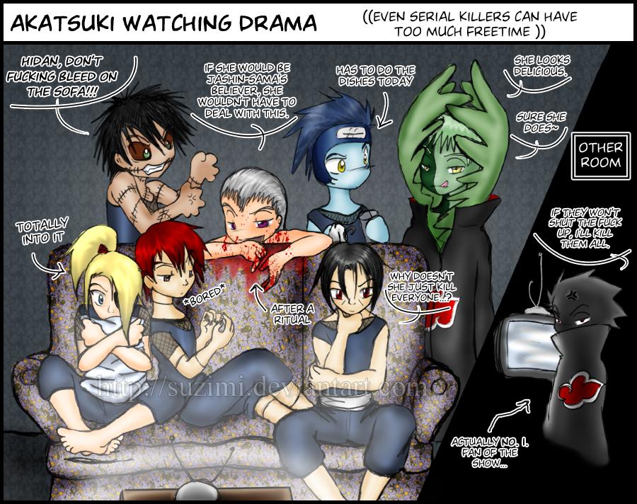 Naruto Akatsuki Funny Comics