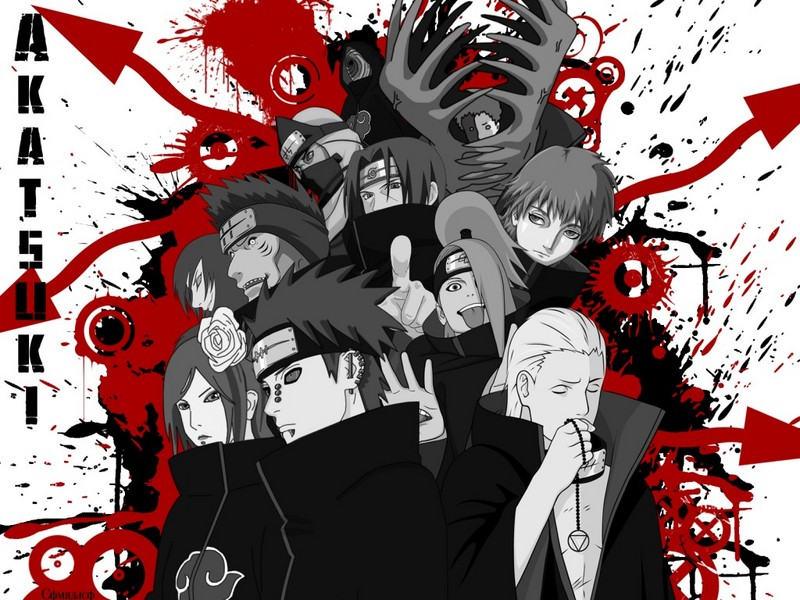 Akatsuki wallpaper  Naruto Shippuuden Wallpaper 26729548  Fanpop