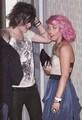 Amelia Lily & Frankie Cocozza (Framelia) Outside X Factor Studio's 04/11/11 100% Real ♥