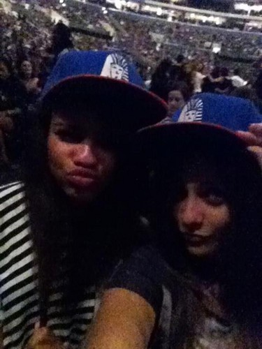 At chris brown konsert