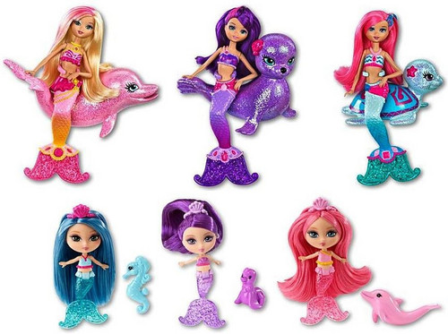 Barbie in a Mermaid Tale 2 - Mini Mermaids And Friends