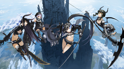 Black★Rock Shooter 壁纸 entitled Black Rock Shooter