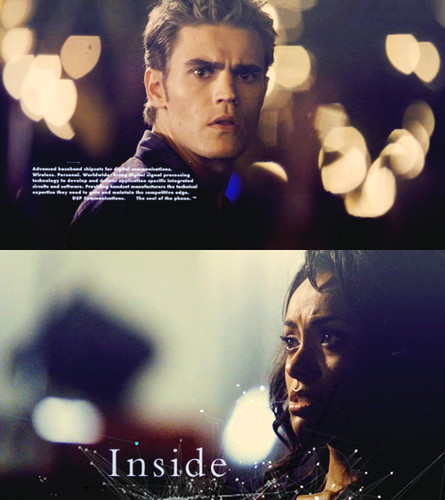 Bonnie's Multi Shippings wallpaper called Bonnie and Stefan