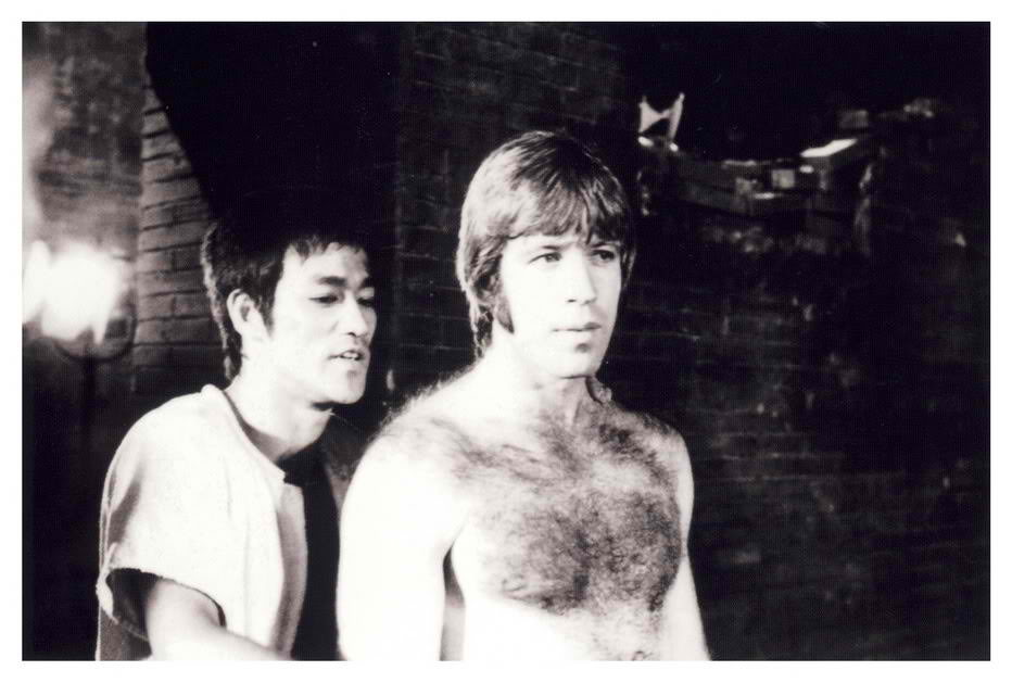 Bruce with Chuck