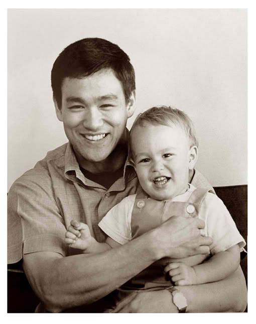 Bruce with his son - B...
