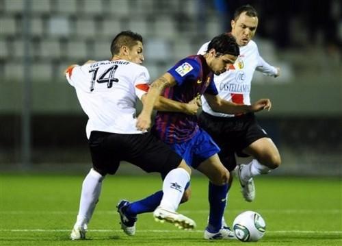 CE L'Hospitalet (0) v FC Barcelona (1) - Copa del rey [First Leg]