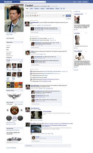 Castiel's フェイスブック