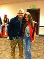Chris Brown with Paris jackson