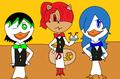 Cilan, Chili, and cress cosplay
