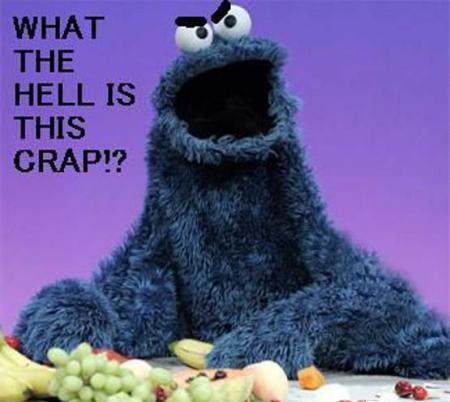 Cookie monster :P