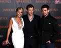 Daniel Gillies, Claire Holt and Joseph Morgan at The World Premiere of