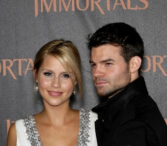 "Daniel Gillies and Claire Holt at The World Premiere of ""Immortals"""