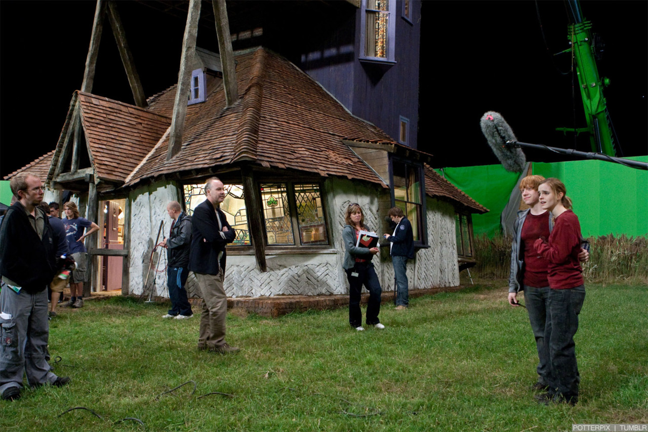 Deathly Hallows Part 1 [Behind the Scenes]