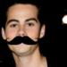 Dylan O'Brien- Mustache
