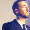 Edward Norton Foto with a business suit titled Edward Norton
