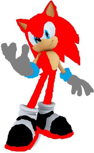 Extreme the hedgehog