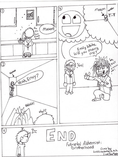FMA Brotherhood Comic