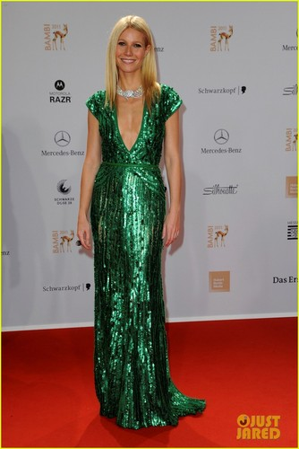Gwyneth Paltrow: Bambi Awards in Germany!
