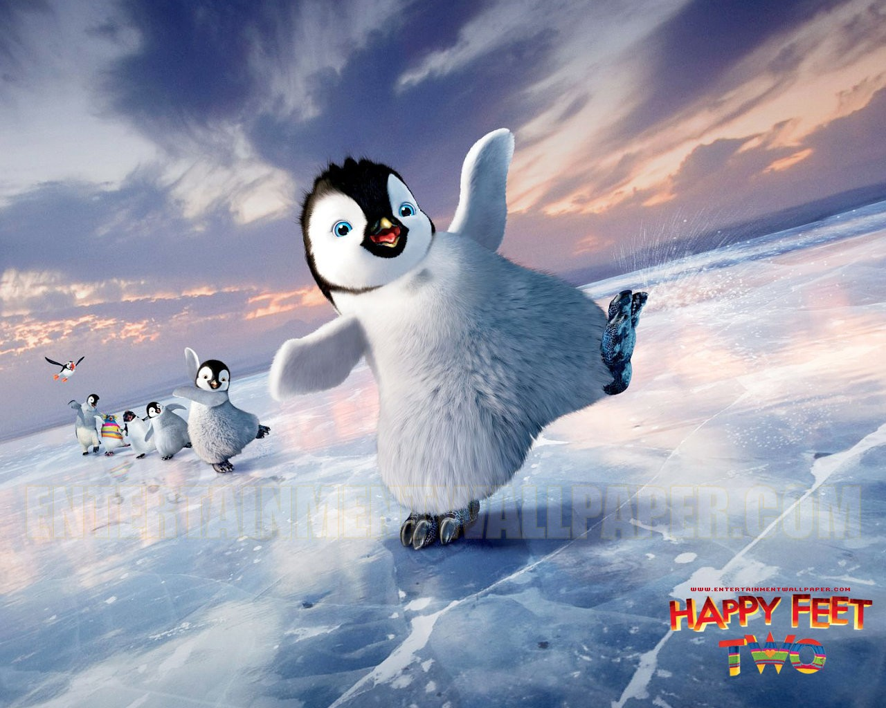 upcoming movies images happy feet too 2011 hd wallpaper