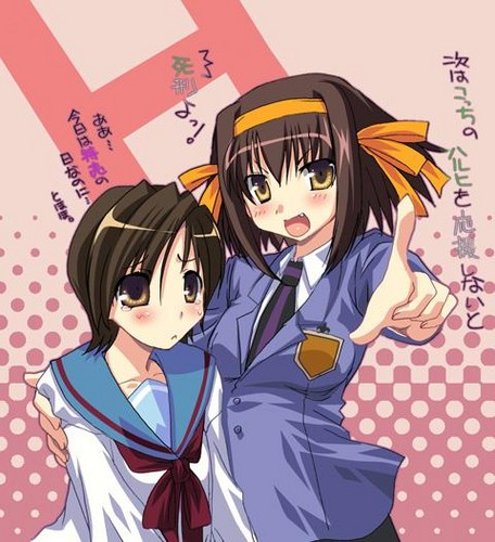 Haruhi and Haruhi X3