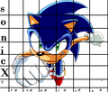 How to draw Sonic - sonic-x photo