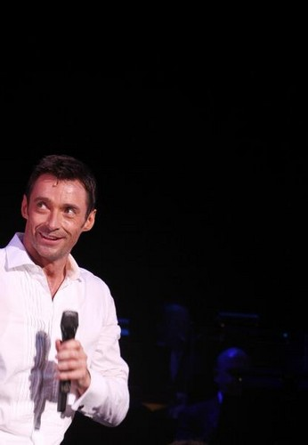 Hugh Jackman at the Broadhurst Theatre