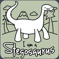 I am a Stegosaurus t-shirt logo - asdf-movie photo
