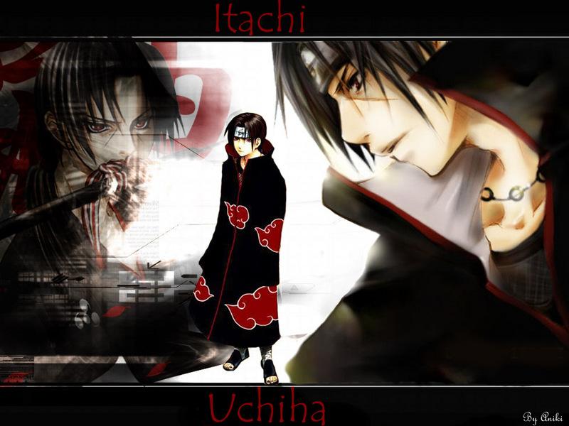 Naruto Shippuden Itachi Uchiha Wallpaper