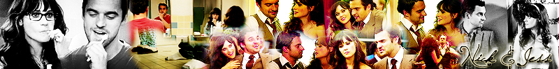 Jess & Nick banner [New Girl]
