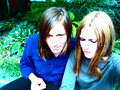 Juliana Hatfield and Evan Dando of The Lemonheads