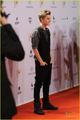 Justin Bieber: Bambi Awards 2011