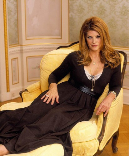 Kirstie Alley wallpaper containing a well dressed person, a living room, and a drawing room titled Kirstie Alley