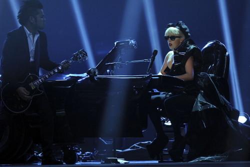 Lady Gaga Performing Live @ the Bambi Awards 2011