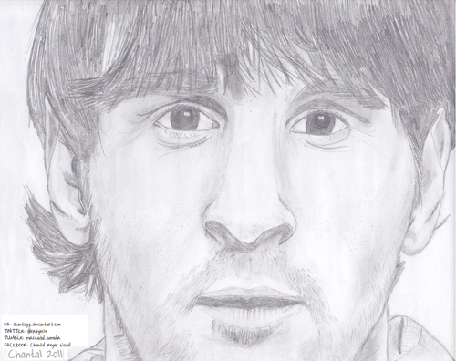 Leo Messi Drawing