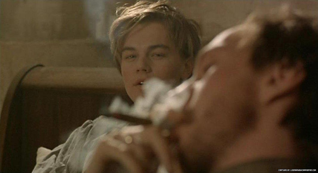 Leo as Arthur Rimbaud in