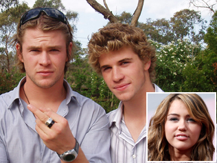 Chris & Liam Hemsworth wallpaper possibly containing a portrait called Liam Hemsworth and Chris Hemsworth